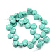 Dyed Synthetic Turquoise Gemstone Bead Strands(G-T005-10)-2