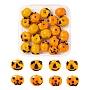 Dark Orange Pumpkin Lampwork Beads(LAMP-LS0001-02)