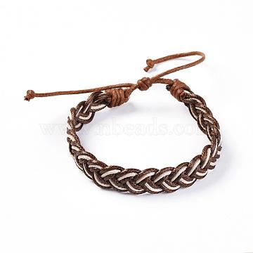 Coffee Waxed Cord Bracelets
