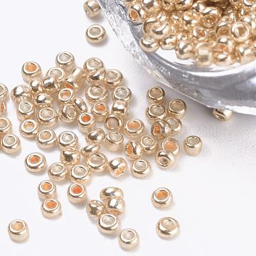 2mm NavajoWhite Glass Beads