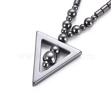 Non-magnetic Synthetic Hematite Necklaces(NJEW-G331-04)-4