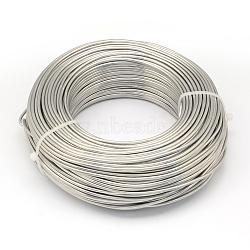 Fil d'aluminium, lightgrey, Jauge 20, 0.8 mm; 300 m / 500 g(AW-S001-0.8mm-21)