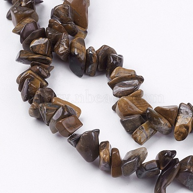 Natural Tiger Eye Stone Bead Strands(G-R192-19)-3