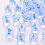Transparent Acrylic Beads, Pumpkin, Royal Blue, 17.5x16mm, Hole: 2mm, about 183pcs/500g