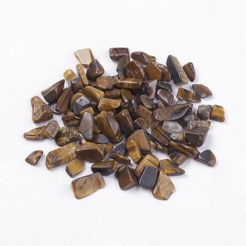 5mm Chip Tiger Eye Beads