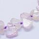 Natural Kunzite/Spodumene Beads Strands(G-F566-32)-3