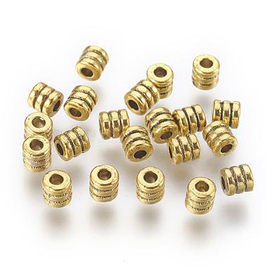 style tibétain perle des entretoises(X-GLF0334Y-NF)-1