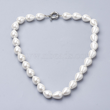 Creamy White Shell Necklaces