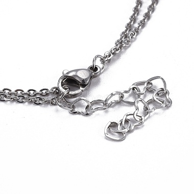 304 Stainless Steel Tiered Necklaces(X-NJEW-JN02350-02)-4