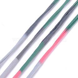 Cordons polyester, colorées, 20~25 mm; 28.5~30 m / rouleau(OCOR-S122-03E)