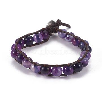 Indigo Natural Agate Bracelets