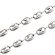304 Stainless Steel Coffee Bean Chain Necklaces(X-NJEW-JN02917)-2