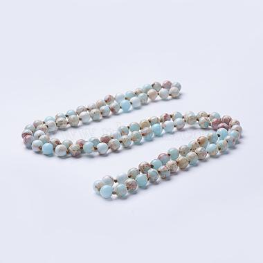 PaleTurquoise Regalite Necklaces