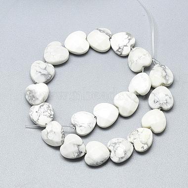 Natural Howlite Beads Strands(G-S357-E01-13)-2