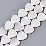 Seashell Color Heart Shell Pearl Beads(BSHE-Q034-003D)