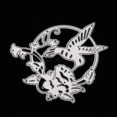 Hummingbird Carbon Steel Cutting Dies Stencils(DIY-A008-42)-3