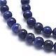 Natural Sodalite Beads Strands(G-K224-01-6mm)-3