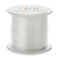 Korean Elastic Crystal Thread, Clear, 0.8mm, about 142.16 yards(130m)/roll(EW-N004-0.8mm-01)