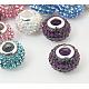 Resin Rhinestone Beads(CPDL-H001-10x7mm-M)-1