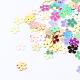 Ornament Accessories Disc Plastic Paillette Beads(X-PVC-R016-M)-1