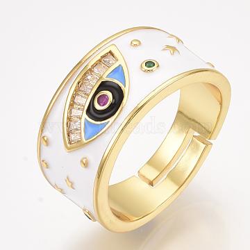 White Brass Finger Rings