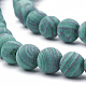 Synthetic Malachite Beads Strands(G-T106-199)-2