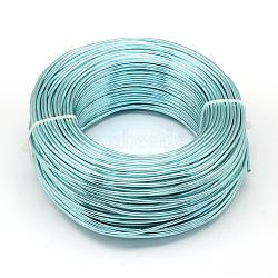 Fil d'aluminium, paleturquoise, Jauge 20, 0.8 mm; 300 m / 500 g(AW-S001-0.8mm-24)