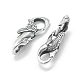 Thai Sterling Silver Lobster Claw Clasps(STER-L055-057AS)-2