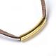 Adjustable Faux Suede Cord Bracelets(BJEW-JB04216-04)-2