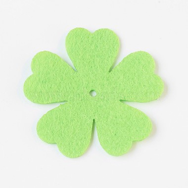 Clover Non Woven Fabric Embroidery Needle Felt for DIY Crafts(X-DIY-WH0078-01)-2
