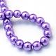 Chapelets de perles rondes en verre peint(X-HY-Q003-6mm-27)-4