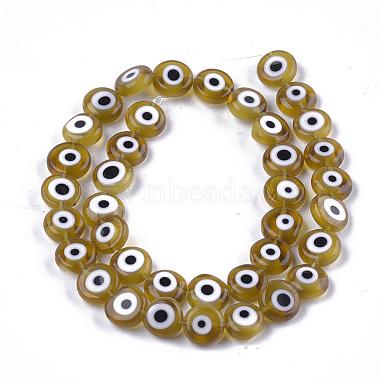 la main d'oeil mauvais chalumeau perles brins(X-LAMP-S191-02C-07)-1