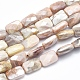 Electroplate Natural Sunstone Beads Strands(G-K256-19A-01)-1