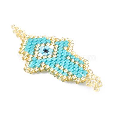 Handmade Seed Beads Links Connectors(SEED-I012-35)-2