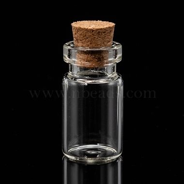 Glass Jar Glass Bottle Bead Containers(X-CON-Q014)-2