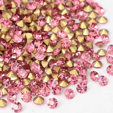 2mm Diamond Glass Rhinestone Cabochons