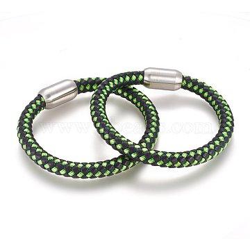 GreenYellow Leather Bracelets