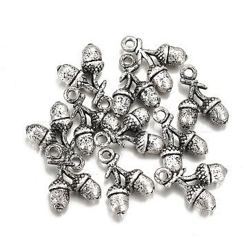 Thai Sterling Silver Plated Fruit Alloy Charms