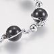 Glass Round Beads Bracelets(BJEW-F298-02A)-2