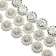 Wedding Dress Decorative Brass Glass Rhinestone Chains(CHC-R127-02)-2