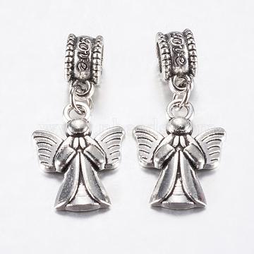 30mm Angel & Fairy Alloy Dangle Beads