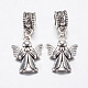 Tibetan Style Alloy European Dangle Beads(PALLOY-F199-32AS)-1
