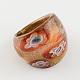 Handmade Gold Sand Millefiori Lampwork Rings(RJEW-Q150-M12-B)-2