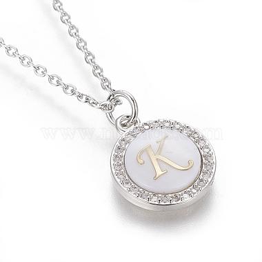 Brass Initial Pendant Necklaces(NJEW-I230-24P-K)-3