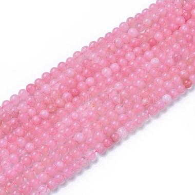 8mm Round Rose Quartz Beads