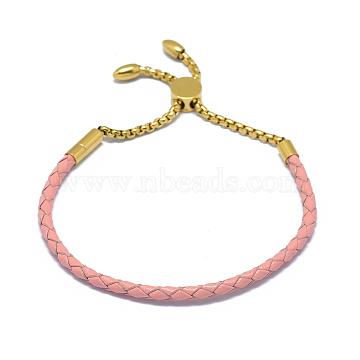 Pink Leather Bracelets