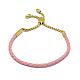Adjustable Leather Cord Bracelets(BJEW-I242-05B)-1