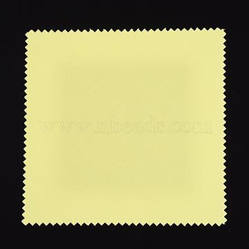 Yellow Cloth Silver Polishing Cloth