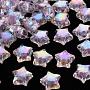 Lilac Star Acrylic Beads(TACR-S152-02D-SS2114)