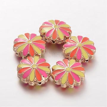 Flower Alloy Beads